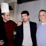 2 - Chef Vincenzo Vottero, nutrizionista Emanuele Rondina, titolare Maurizio Rovinetti